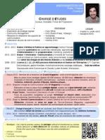 CV Paul Bousquet Chargé d'Études 1