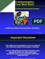 Imunizari La Adult