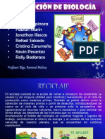 biologia reciclaje
