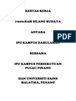 Kertas Kerja Program Silang Budaya