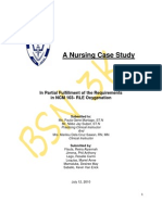 A Nursing Case Study