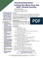 Formats Seminar Description Aug 2012