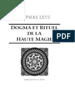 Rituel Et Dogme de La Haute Magie by Eliphas Levi Part_II