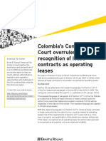 overruled possible recognition of lease contracts as operating leases