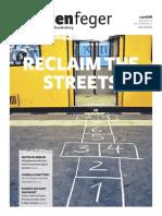 RECLAIM THE STREES - strassenfeger Ausgabe 13/2013