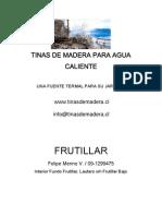 Manual de Tinas de Madera
