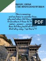 ORASUL DIN  MUNTII CHINEI