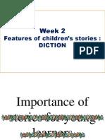 Features of children's stories