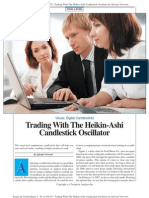 Trading With the Heikin-Ashi Candlestick Oscillator