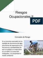 PRESENTACIÓN Riesgos Ocupacionales II