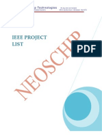Neoschip IEEE Embedded Projects