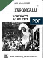 NICHITARONCALLI Controvita Di Un Papa Di Franco Bellegrandi