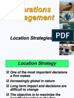 Location Strategy