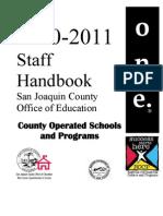 StaffHandbook2010-2011