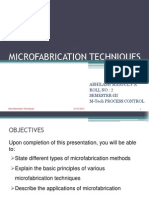 Microfabrication Techniques