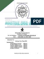 Internship Report Pakistan Steel Mill