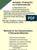 V. Characterization Methods