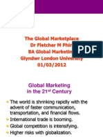 Global Marketing_Additional Review Notes_Dr FM Phiri