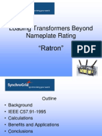 Loading Power Transformers Beyond Nameplate Ratings(1)