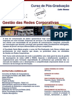 Informativo Gestão das Redes Corporativas
