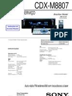 CDX-M8807 ver.1.3