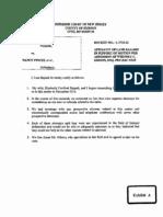 Lane Bajardi Affidavit- in support of Admission of Whitney C. Gibson, Esq.  ProHaceVice