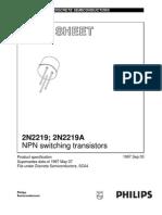 Datablad 2N2219