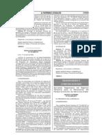 DS 016-2008-MTC Chatarreo - Regimen Temporal Renovacion Dl Parke Automtor de Vehiculos Diesel