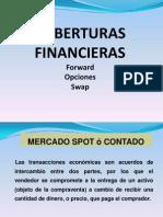 Coberturas financieras