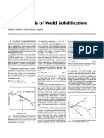 Fundamentals Weld Solidification-Harvey D. Solomon-GE