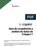 TI-Nspire Data Collection Guidebook ES