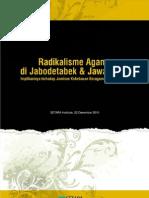 Radikalisme Agama Di Jabodetabek Dan Jawa Barat - Setara Institute (2010)