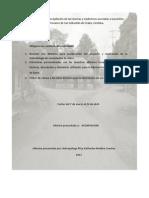 Primer Informe, Etnografia Del Barro