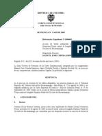 T-453 - 2005 - Prueba en Casos de Violencia Sexual - Colombia