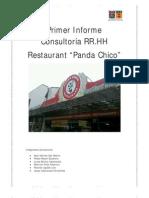 Primer Informe Consultoría RR