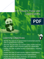 Tourism Policy and Organizations