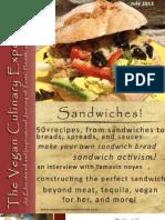 Vegan Culinary Experience (Sandwich Edition)