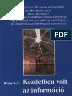 Gitt, Werner - Kezdetben Volt Az Informacio