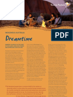 Dreamtime Aboriginal Culture Fact Sheet