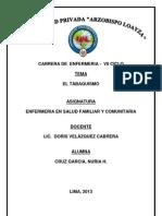 Plan de Charla Del Tabaquismo