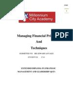 Final Financial Principles & Techniques Full