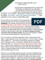 Luke 06-20-26 Beatitude Attitudes (1)_Religious but Lost