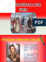 Independencia Del Peru - Computacion