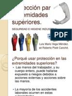 Protección en Extremidades Superiores