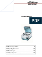 Hematocrit 210 Manual