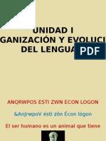 01 Organizacion y Evolucion Del Lenguaje