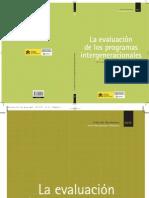__Evaluacion de Programas Intergeneracionales