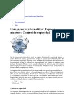 Compresores Reciprocos Control de Capacidad