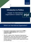 International Organisations - Garner 2
