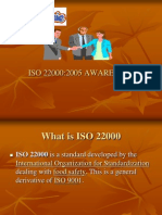 ISO 22000 Awareness Session